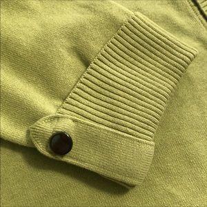 Talbots Cardigan Lime Green Sweater Set Size L XL